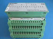 Phoenix Contact 2752961 IBS STME 24 BK DIO 8/8/3-T & 9282557 Terminal Block