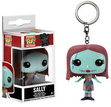 KEYCHAIN NIGHTMARE BEFORE CHRISTMAS SALLY JACK KEYRING DISNEY FIGURE POP FUNKO 2