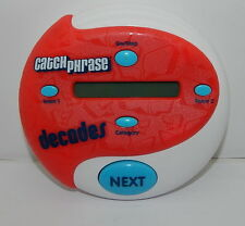 Catch Phrase Decades Edition - Electronic Game - Hasbro 2013 R12723