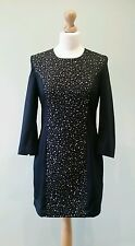 New Size 10 French Connection Little Black Dress, Embellished LBD BNWT