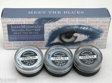 BARE ESCENTUALS bareMinerals * WEARABLE EYE KIT - MEET THE BLUES * $42 ~ NEW ~