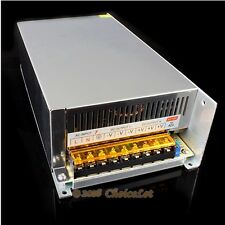 48V 12.5A 600W Switch Power Supply PSU For CNC Router Industrial Automation DIY