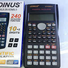Calculator Scientific Battery Power Two-line Display Math Science 10 DIGITS