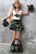 MU BARBIE CHEERLEADER UNIFORM Marshall University Thundering Herd Football 6 pc