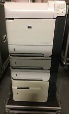 HP 4015x Laserjet workgroup duplex printer with addtl 500 and 1500 sheet feeder