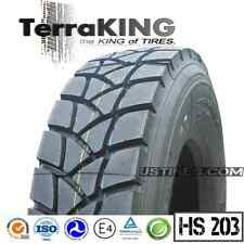 TerraKING HS203 - 315/80R22.5/20PLY DRIVE/REAR/DUMP/GARBAGE/ROLL-OFF TRUCK TIRES