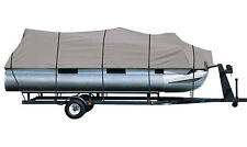 DELUXE PONTOON BOAT COVER Harris Flotebote Crowne 220 O/B