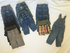 18 month baby boy clothes lot bottoms jeans pants shorts