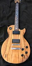 LP Style Spalted Electric Guitar