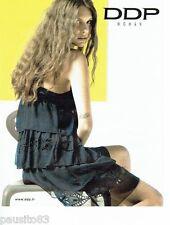PUBLICITE ADVERTISING 116  2010  DDP  woman  pret à porter
