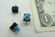 20 Tactile Touch Switches, Keyboard, Apem Components MJ7P1234 Mini Pushbutton