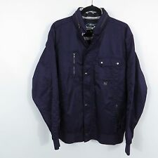 Quiksilver Snowboard Ski Hooded Winter Jacket Mens Size XL Purple