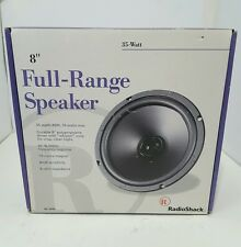 Radio Shack 40-1044 Full-Range Speaker 35 WATT 8""