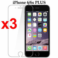 x3 Anti-scratch 4H PET film screen protector Apple iphone 6 6s PLUS front