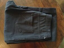 Superfine black womens boot cut jeans 28' 34L