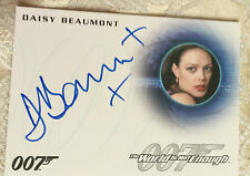 James Bond Classics 2016 Autograph Card A286 Daisy Beaumont