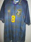Scotland 1996 McCall Home Football Shirt Size XL /5695