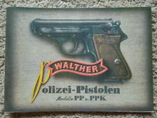 German Walther Automatic Pistol Manual Police PP And PPK 1937 EnglishTranslation