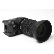Seagull 1X - 3.3x Right Angle Viewfinder for Canon Nikon Olympus Pentax Camera