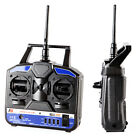 2.4G FS-T4B 4 CH Channel Radio Control RC Transmitter Receiver System