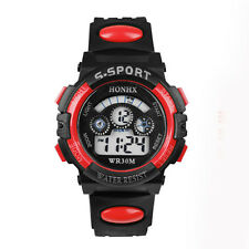 Waterproof Children Digital LED Watch Casual Quartz Watch Boy Sports Wrist Watch