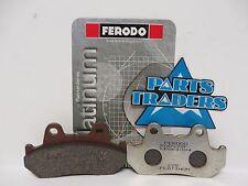 Ferodo Platinum Brake Pads Honda CN250 GL1100 CM450 Hondamatic CB900 CB750