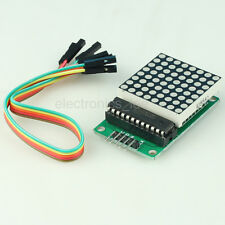 MAX7219 Dot Matrix Module MCU Control Red LED Display for Arduino /w cable