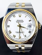 1995 Rolex Oysterquartz Datejust 2-Tone Stainless Steel/Gold Men's Watch 17013A