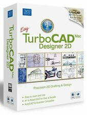 TurboCAD MAC PRECISION CAD 2D Drawing, Designing & Drafting V6 - UK Version
