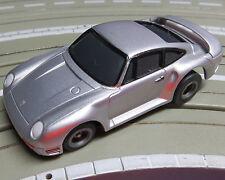 für Slotcar Racing Modellbahn --  Porsche 959 mit Tomy Motor