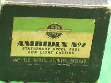 Vintage Ambidex No.2 Reel Box Spool Reel BOX. Just the Box P2556