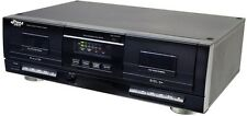 NEW Pyle PT659DU Dual Stereo Cassette Deck W/ Tape USB to MP3 Converter
