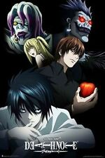 DEATH NOTE - CHARACTERS POSTER - 24x36 ANIME MANGA 3213