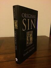"""2008 1st Edition/Printing """"ORIGINAL SIN: A CULTURAL HISTORY"""" by Alan Jacobs"""