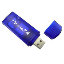 USB GPS Receiver for Computers, Laptops - Blue Color