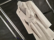 Classic Belted Trench Coat Sz XL