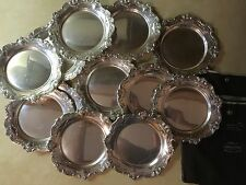 New listing Gorham - Set of (12) Sterling Silver Hors d'oeuvre / Appetizer Dishes / Plates