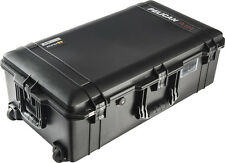 Black Pelican 1615 Air case No Foam.  With wheels.