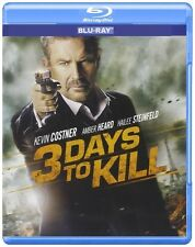 3 Days to Kill (Blu-ray Disc, NO DVD, 2014)