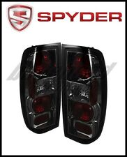 Spyder Automotive Euro Style Tail Lights Smoke for 1998-2000 Nissan Frontier