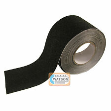 100mm x 1m Black ANTI SLIP TAPE High Grip Adhesive Sticky Backed Non Slip Safety