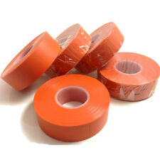 5 ROLLS OF ORANGE ELECTRICAL PVC INSULATION INSULATING TAPE 19mm x 20m