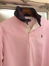 Ralph Lauren Men's Large 48in Lovely Pink & Navy,great Quality & Condition