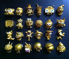 MOSHI MONSTERS Series 4 ☆ Ultra Rare Set 24 Gold ☆ Bobbi Coco Pocito Suey