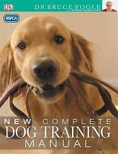 RSPCA New Complete Dog Training Manual,GOOD Book