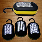 3 Qty- Emergency 27 LED Work Light Hook Flashlight w/ Magnet & 2 Light Modes US