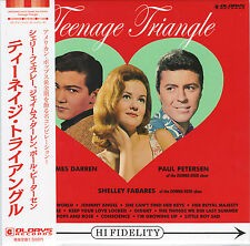 V.A.(SHELLEY FABARES, JAMES DARREN~-TEENAGE TRIANGLE-JAPAN MINI LP CD C94