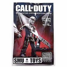 Mega Bloks exclusivo 2015 Call of Duty Zombie Figura/W 10 piezas 10+ años