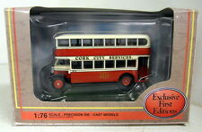 EFE 1/76 Scale 27311 Leyland TD1 Closed Cork City Services diecast model bus