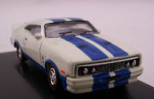Road Ragers Aussie 1978 Ford XC Falcon Cobra Muscle Car White Blue Diecast 1:87